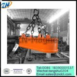 Best Price Oval Shape Electric Lifting Magnet for Handling Steel Scraps of MW61-200150L/1