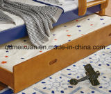 Bunk Bed a Simple Combination of Completely Real Wood Bed (M-X3206)