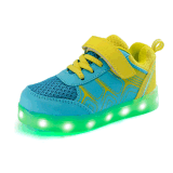 Kids LED Lights USB Colorful Rechargeable Low Top Shoes