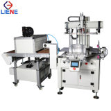Automatic Silk Screen Printer Machine for Plastic Ruler with UV Drying