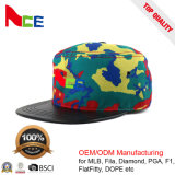 Ace Brand High Quality Custom Flat Brim High Crown Snapback Caps