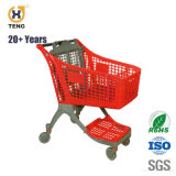 220L Pure Plastic Supermarket Shopping Trolley, 100L 135L 170L 175L 200L 220L