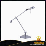 Chrome Zinc Alloy/ABS G4 Adjustable Desk Lamp (2105T)