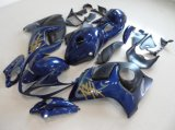 Motorcycle Body Parts Fairing for Gsx-R1300 Hayabusa 2008-2014 Nevy Blue Withe Tank