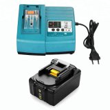 14.4V to 18V for Makita Power Tools Battery Charger for Makita Bl1830 Bl1840 194205-3 Fast Li-ion 18V Cordless Drill Charger