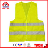 Work Clothes Reflective Waistcoat Fluorescent Yellow Safety Vest