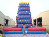 Fashion Design Giant Outdoor Inflatable Climbing Mountain Air Wall