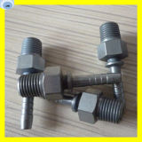 Hydraulic Rubber Hose Fitting Bsp Male Fitting 12611