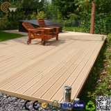 Wood-Plastic Composite Flooring Technics and Engineered Flooring Type WPC Decking