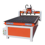 Four Heads Furniture Industry Cut & Engrave CNC Router Ql-1325 Square Rail