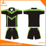 Healong Sportswear Sublimated Printing Soccer Jersey Shirts Wear