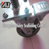 Adjustable Scaffolding Wheel with Brake