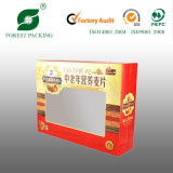 2016 New Design Cardboard PVC Paper Box