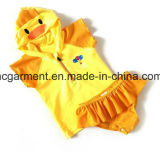 Lovely Kids Lace Swimming Suit, One -Piece Girl' S Swimming Wear