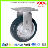 Black Rubber Heavy-Duty Caster (D701-11F100X45)