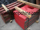 Jaw Crusher Shanbao Toggle Plate in Good Quality