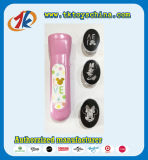 Promotional Projector Plastic Torch Toy with Free Caps for Kids