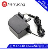 24W UK/Us/Au/EU Wall Mount AC DC Adapter