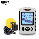 DOT Matrix Portable Transducer Wire Fish Finder (FF718)