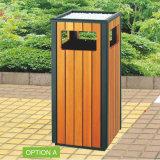 Outdoor Wooden Trashbin Hot Sale Recycling Bins