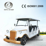 8 Seaters 48V Solar Panel Electric Vehicle