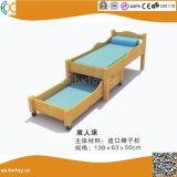 Kindergarten Wooden Bed for Kids