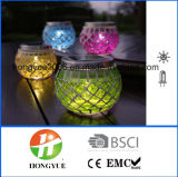 High Quality New Design Solar Garden Table Lamp Outdoor Decoration Solar Lamp with Mosaic Material