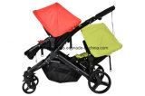 Multi Function New Model Baby Twin Stroller Aluminum Alloy and with Fabric Twin Baby Stroller, High Quality Twin Stroller,Twin Baby Stroller,Baby Twin Stroller