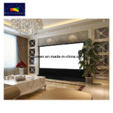 Electric Floor Rising Projection Screen/ Floor Standing Screen with RF Remote Control