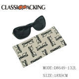 2017 New and Hot Customized Fashion Design Eyewear Sunglasses Canvas Soft Case Pouch with Glasses Logo Printing Spring for Promotion From Wenzhou Factory