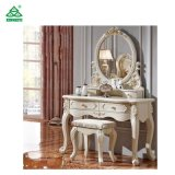 Luxury Bedroom Furniture Wood Material Dressing Table and Mirrors