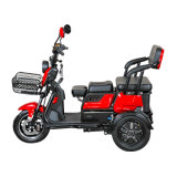 Functional Electric Tricycle with Wheel Wheels, 500W Lead Acid Battery