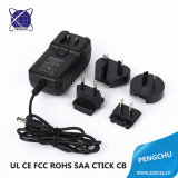 CE RoHS FCC CB SAA Certification AC DC Power Adapter 5V 2A 10W Wall Mount Treval Charger With AU EU US UK Plugs For Phone LED CCTV Use