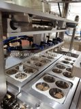 Automatic Tray/Cup Vacuum/Map/Nitrogen/Gas Filling Packing/Sealing Machine for Food/Meat/Fish/Fruit/Vegetable with Soup/Juice