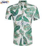 Factory Direct Sale 100% Cotton Custom Floral Printed Hawaiian Mens Casual Shirts