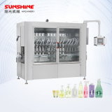 Automatic 50-1000ml Servo Piston Type Daily Chemical Laundry Detergent Shampoo Sanitizer Hair Conditioner Washing-Cup Liquid Bottle Filling Machine