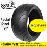 Motorcycle Spare Parts Motorcycle Radial Tire with ECE/Reach Standard Tyre 300/35vr18