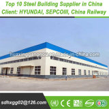 Q235B Modular Heavy Prefabricated Metal Light Structural Pre-Engineered Steel Frame Building Construction Fabrication Structure (exported 200, 000MT)
