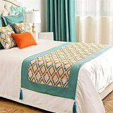 Good Quality Cotton Hotel Cushion and Bed Runner