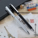 China Factory Wholesale Metal Twist Action Slim Ball Pen for Hotel