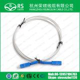 2core Gjxh SC/PC Upc APC FTTH Fiber Optic Patchcord Cable
