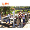 Children Outdoor Park Playhouse Equipment Water and Sand Play Toys Wooden Educational Toys