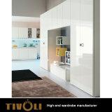 Latest Wardrobe Cabinet Modern Bedroom Furniture Designs, Laminate Bedroom Walk in Closet Wardrobe Design TV-0332