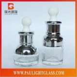 High Quality Painting Glass Cosmetic Bottle Cosmetics Package