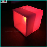 "16"" Rechargeable LED Cube W/Color Change Remote Open Cube"