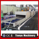 Manufacturing aluminium Sheet Stone Coated Roof Tile Making Machine