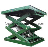 Pit Mounted Goods Lift Warehouse Elevators /Hydraulic Stationary Cargo Scissor Lifter
