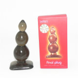 Anal Beads with 3 Beads Silicone Anal Toy Butt Plug