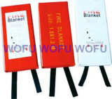 100% Woven Glass Fibre Fire Blanket Packed with PVC Hard Box
