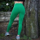 Hot Sell Lycra Womens Workout Clothes Butt Lifting Leggings